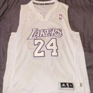 LA Lakers Kobe Bryant rare white and purple jersey